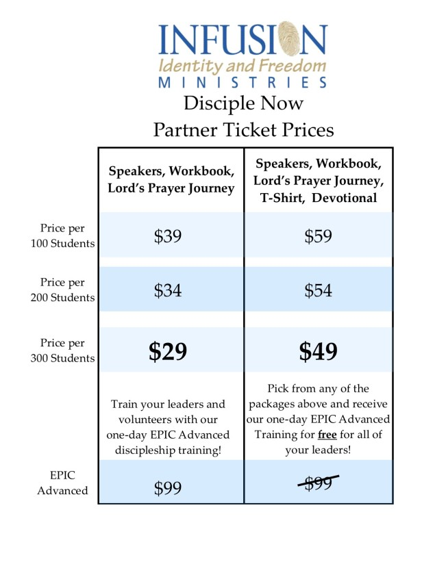 Ticket Prices for DNow